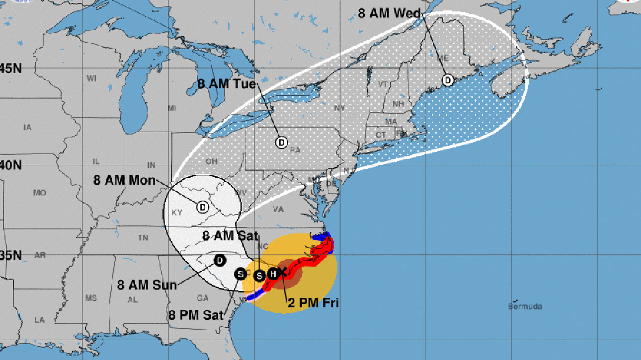 Resultado de imagen para National Hurricane Center