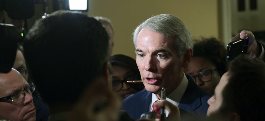 Sen. Rob Portman, R-Ohio, introduced the measure and is a long-time proponent of the restrictions.
