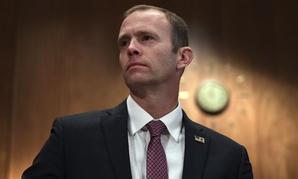 FEMA Administrator Brock Long testifies before Congress last fall.