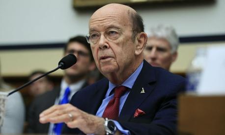 Commerce Secretary Wilbur Ross testifies on Capitol Hill in June.