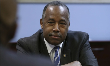 HUD Secretary Ben Carson is one of the Cabinet secretaries whose mixed travel the group is looking into.