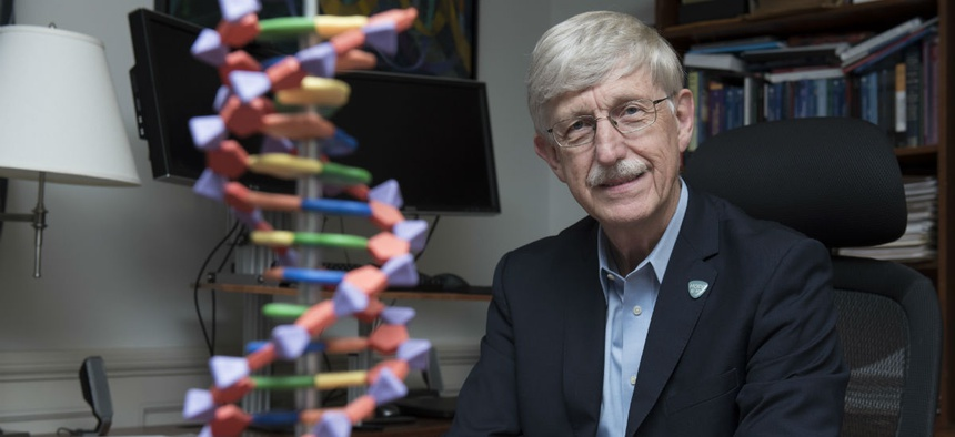 "NIH Director Francis Collins said: ""The entire biomedical research community must work together to put an end to sexual harassment in science."""