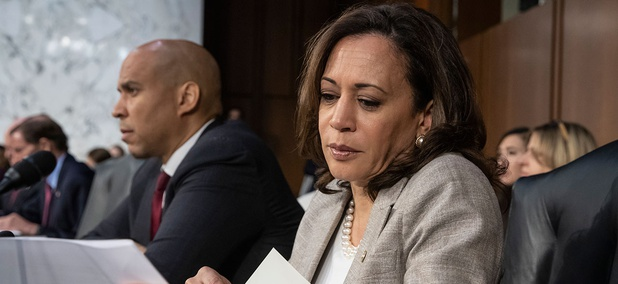 Senators Kamala Harris and Cory Booker both signed letters to federal agencies asking about AI bias.