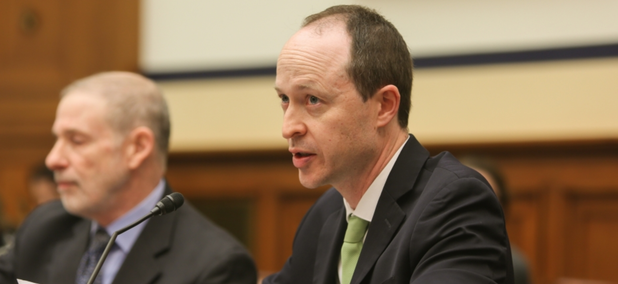 File photo of Todd Harrison, director of Defense Budget Analysis at the Center for Strategic and International Studies think tank in Washington.