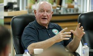 Agriculture Secretary Sonny Perdue participates in an August roundtable discussion in Iowa.