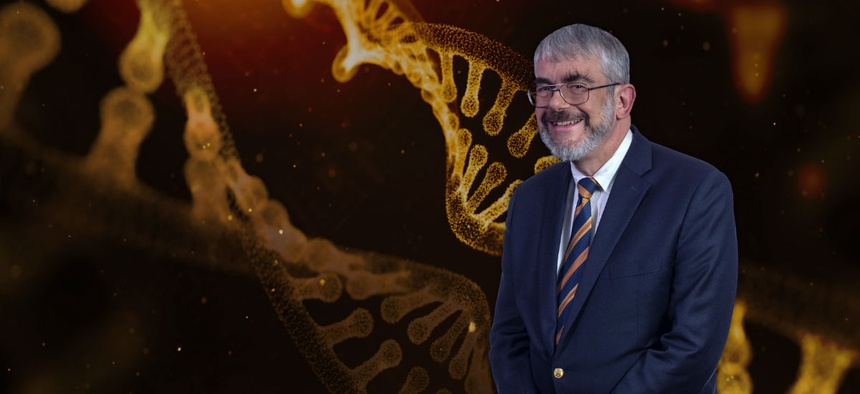 Dr. Daniel Kastner of the National Institutes of Health won the federal employee of the year award for uncovering the genetic causes of seven rare, debilitating illnesses.