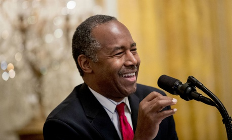 "HUD Secretary Ben Carson said it's ""a difficult problem because not every homeless veteran is coming to us and saying, 'Please help me,' """