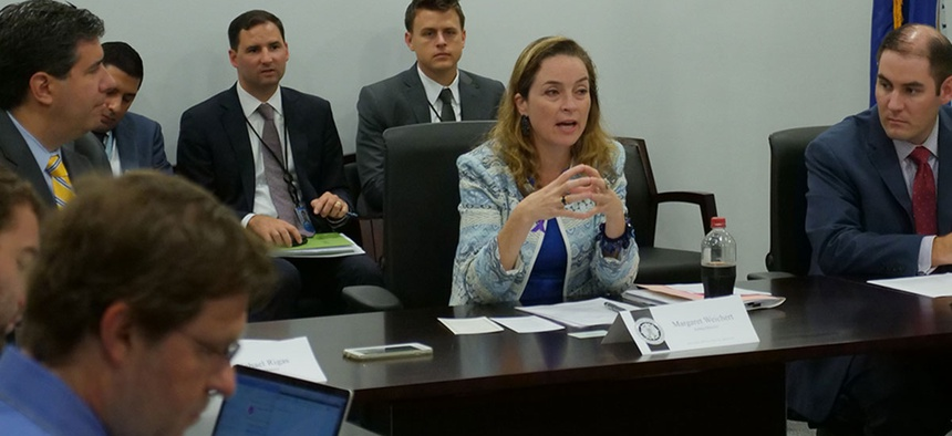 Acting OPM Director Margaret Weichert in October announced steps she is taking to boost recruitment and retention. Weichert's memo this week encouraged agencies to continue implementing the administration's workforce priorities.