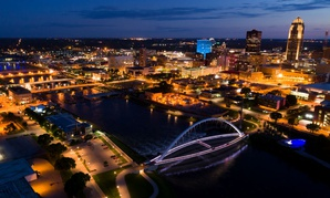 Des Moines is getting its own locality pay area.