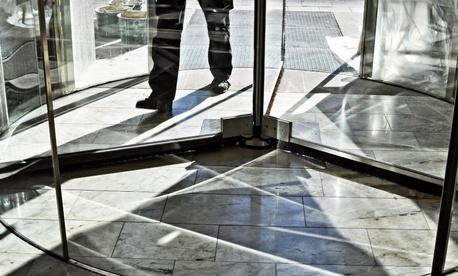latest count of revolving door defense contractors names names