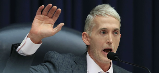 """Outgoing House Oversight and Government Reform Committee Chairman Rep. Trey Gowdy, R-S.C., said he would like the new Forest Service chief to """"send a clear unmistakable message"""" that sexual harassment won't be tolerated."""