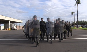 CBP Mobile Field Forces Exercise is performed at the Hidalgo, TX Port of Entry on Nov. 2.