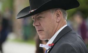 Interior Secretary Ryan Zinke attends the Memorial Day Ceremony at Black Hills National Cemetery, South Dakota.