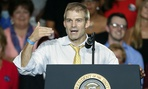 Rep. Jim Jordan, R-Ohio, speaks at a rally for President Trump in August.