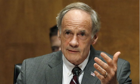 "Sen. Tom Carper, D-Del., said it is ""disappointing and frustrating to learn that OMB—an office that is specifically tasked with overseeing how our government agencies perform and manage resources—is dismissing the thoughtful, nonpartisan recommendations."""