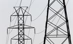 Power transmission lines.