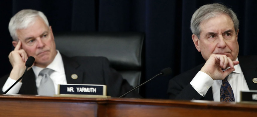 House Budget Committee leaders Reps. Steve Womack, R-Ark., (left) and John Yarmuth, D-Ky., on Tuesday hailed the ruling.