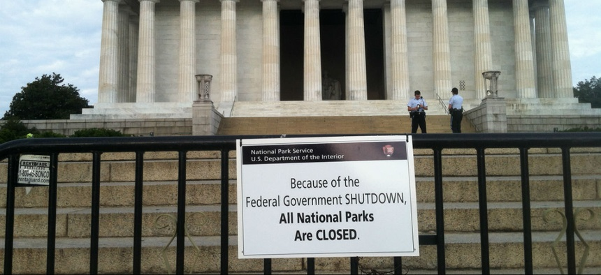 See Who Would Get Furloughed in a Christmas Shutdown   Government