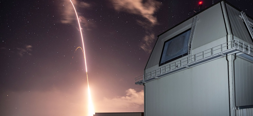 The Missile Defense Agency (MDA) and U.S. Navy sailors manning the Aegis Ashore Missile Defense Test Complex (AAMDTC) at the Pacific Missile Range Facility (PMRF) at Kauai, Hawaii, successfully conducted Flight Test Integrated-03 (FTI-03) in December.