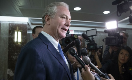 Sen. Chris Van Hollen, D-Md., introduced the back pay measure.