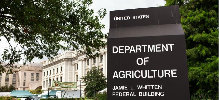 USDA headquarters in Washington.