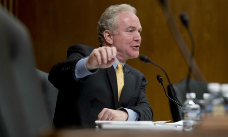 """""""It's important to put into law something permanent so that going into future shutdowns, federal employees at least have the assurance and certainty that they will be paid at the end of the day,"""" said Sen. Chris Van Hollen, D-Md."""