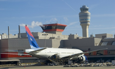Atlanta's Hartsfield-Jackson International Airport is shown.