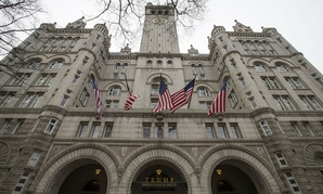 The Old Post Office clock tower remains open despite the partial shutdown.