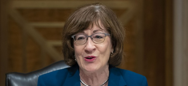 Sen. Susan Collins, R-Maine, is a co-sponsor of a bill to pay excepted federal employees before the shutdown ends.