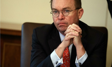 Acting White House Chief of Staff Mick Mulvaney has tried to reduce the impact of the shutdown on the public.