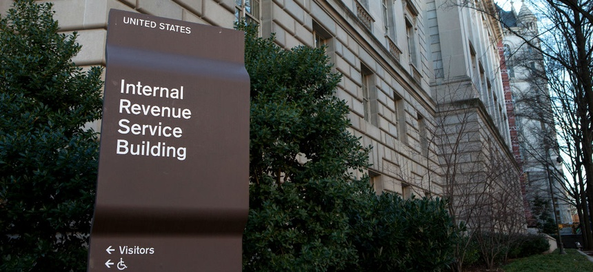 The IRS is one agency where workers face a backlog after the shutdown.