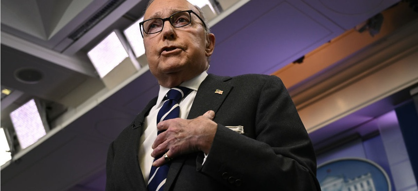 White House National Economic Council Director Larry Kudlow said he doesn't put much stock in the CBO report.