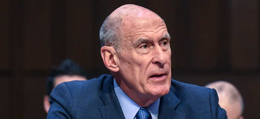 Director of National Intelligence Dan Coats, provides the Intelligence Community's 2018 assessment of threats to U.S. national security to the Senate Armed Services Committee in 2018.