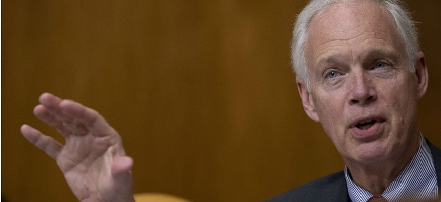 Sen. Ron Johnson, R-Wis., was one of the lawmakers who wrote the letter.