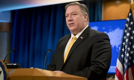 "Secretary of State Mike Pompeo said: ""The fight against propaganda and disinformation is one we must win."""