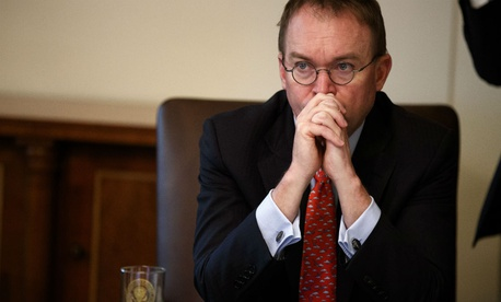White House acting Chief of Staff Mick Mulvaney said a shutdown is still a possibility.