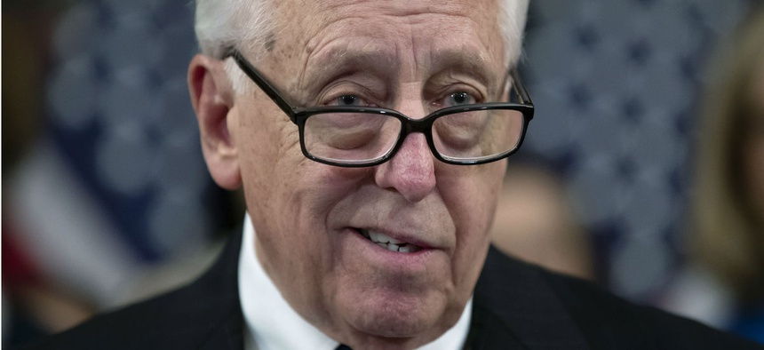 House Majority Leader Steny Hoyer, D-Md., said a 1.9 percent 2019 pay raise would be included in the spending package to keep agencies open.