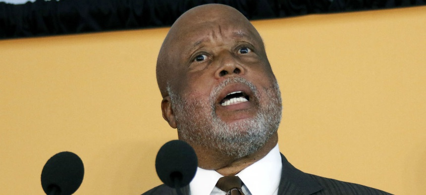 Rep. Bennie Thompson, D-Miss., is one of the sponsors of a bill to give TSA employees full Title 5 protections.