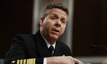 Navy Adm. Philip Davidson, shown at a 2018 hearing, was in charge of ensuring that the Navy's fleets were properly manned at the time of the collisions we reported on.