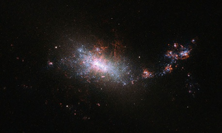 A sparkling nearby galaxy