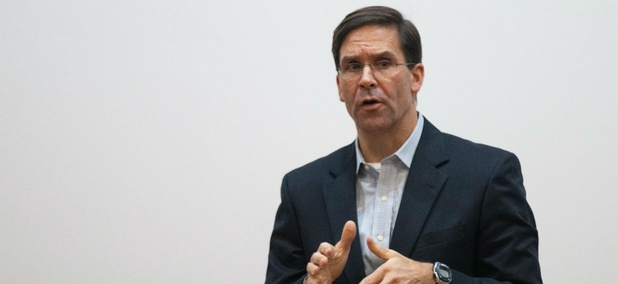 "Army Secretary Mark Esper said the money should be redirected toward soldiers so they can be ""confident that their spouses and children are supported so they can focus on their mission."""