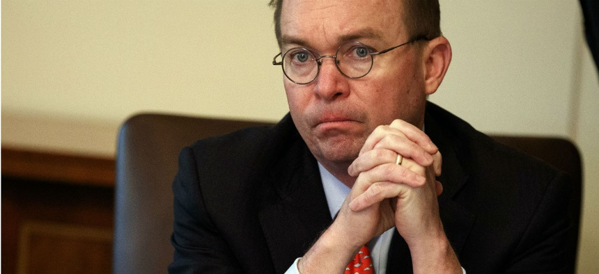 Mick Mulvaney asked the acting budget director to remind agencies of document clearance procedures.