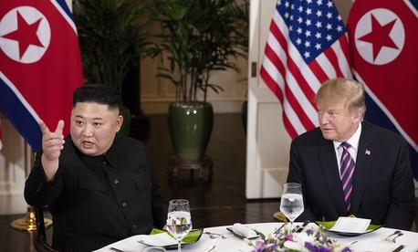 Kim and Trump meet in Vietnam on Wednesday.