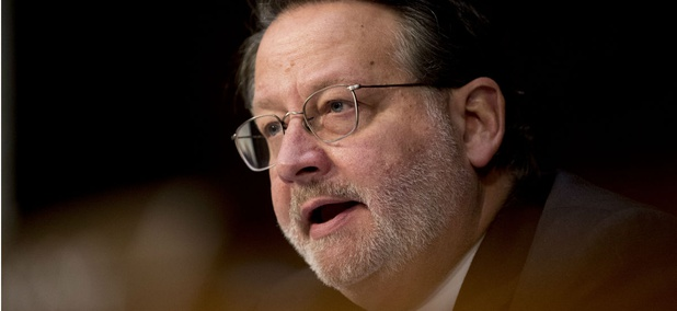 Sen. Gary Peters, D-Mich., demanded information from the White House budget chief and acting chief of staff.