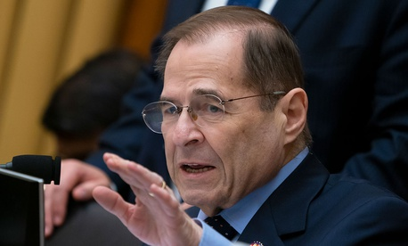 House Judiciary Committee Chairman Jerrold Nadler, D-N.Y., gestures during a hearing on Capitol Hill in February.