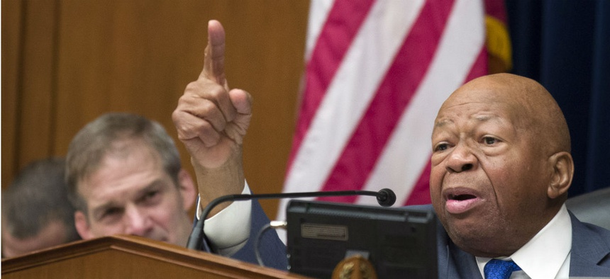 Rep. Elijah Cummings, D-Md., is the new chairman of the House's main oversight committee.