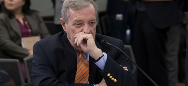 Sen. Dick Durbin, D-Ill., said the plan could be part of an effort to minimize the use of Defense Department construction funds.