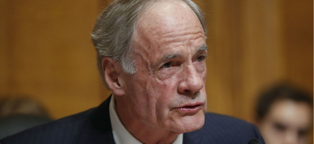 """Upholding basic ethical standards for our government should not be a partisan issue,"" said Sen. Tom Carper, D-Del."