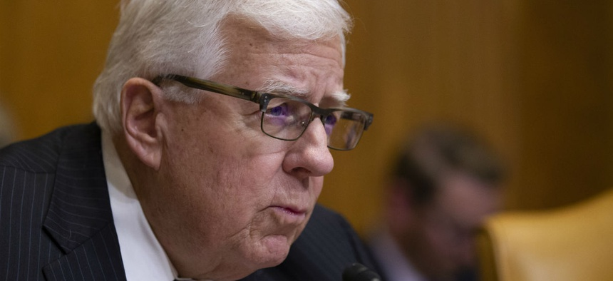 Senate Budget Committee Chairman Sen. Mike Enzi, R-Wyo., said the plan reduces overspending and sets realistic deficit-reduction goals.