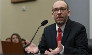 Acting OMB Director Russell Vought testifies before Congress in early March.